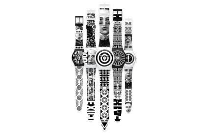 Colección de relojes para la marca Swatch