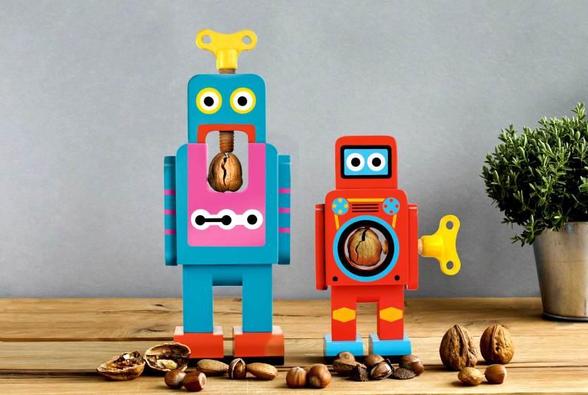 Robots abre nueces