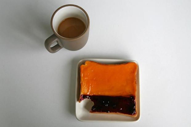 Mark Rothko Toast
