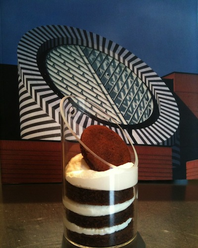 SF MoMa Cake