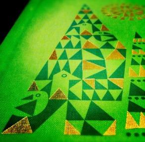 The Fir Tree detalle de la cubierta del libro