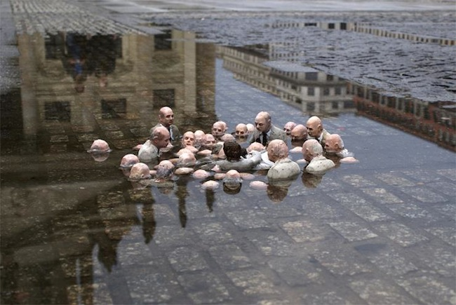 Isaac Cordal and His Tiny World