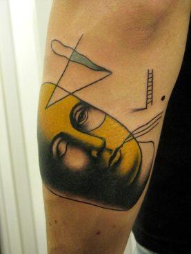 tattoo face