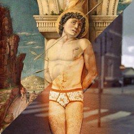Andrea Mantegna, San Sebastiano, 1456-1457 vs. Luigi Ghirri, Rotterdam, 1973